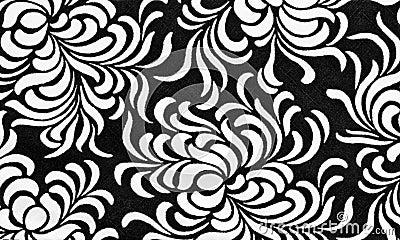printed flower fabric