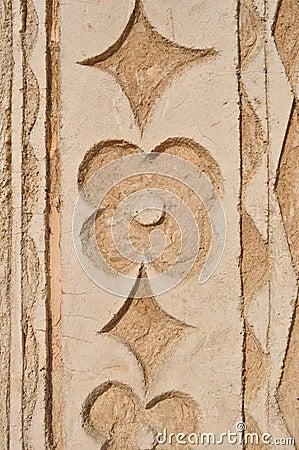 Flower pattern bumpy