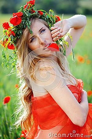 Free Flower Portrait Stock Images - 9668064