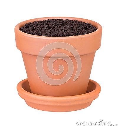 Free Flower Pot Royalty Free Stock Photos - 21875548