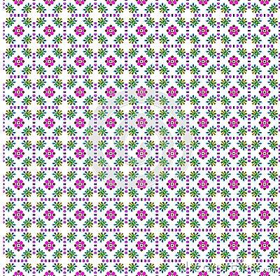 Flower print cloth