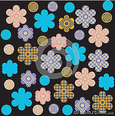 Flower print design