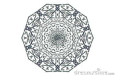 Flower and Rope Mandala