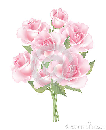 Flower rose posy