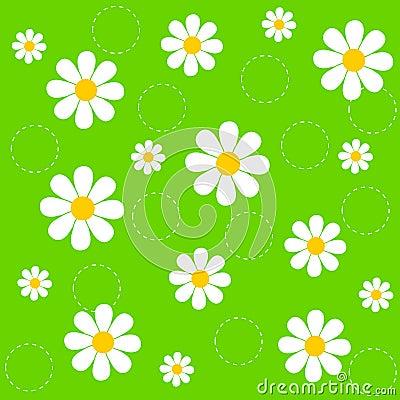 Free Flower Seamless Pattern Stock Photography - 8016972