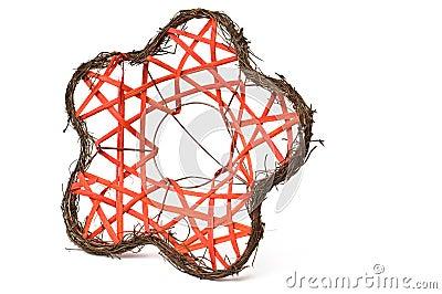 Flower shaped bouquet decorator net