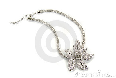 Flower shaped pendent