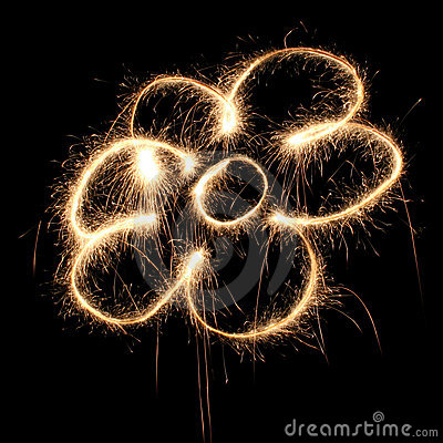 Flower sparkler