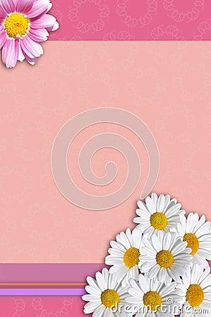 Free Flower Stationery Royalty Free Stock Image - 27936166