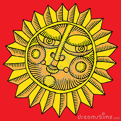 Flower sun gold