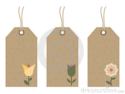 Flower tags