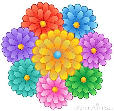 Flower theme image 1