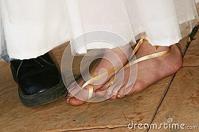 Flowergirl feet