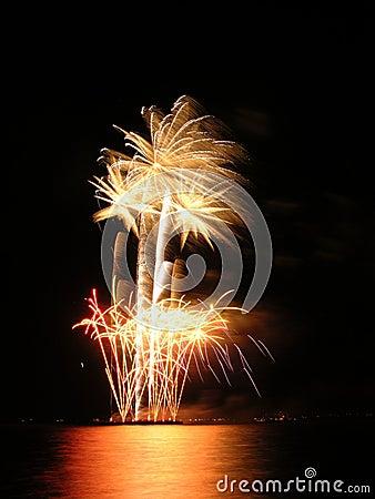 Flowerpot fireworks