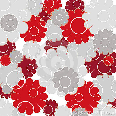Free Flowers And Circles Royalty Free Stock Photography - 995527