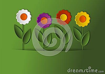 Flowers as Card