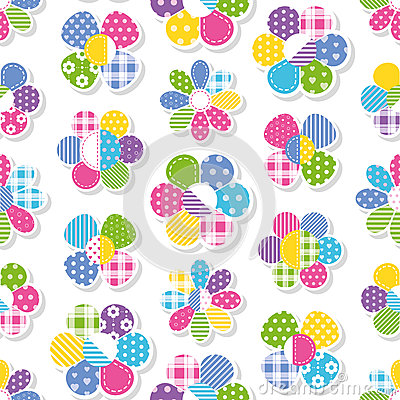 Free Flowers Collection Pattern Stock Images - 47699534
