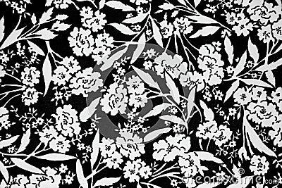 Flowers design fabric