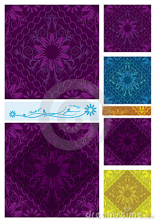 Flowers Diamond Seamless Pattern_eps