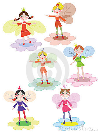 Flowers fairies