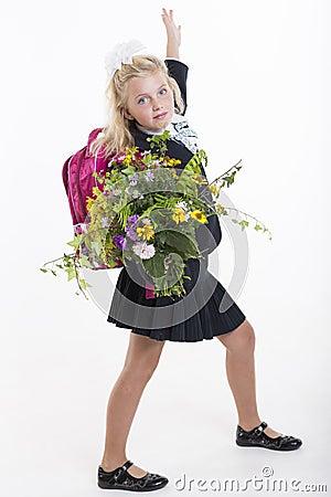 Flowers for favorite teacher
