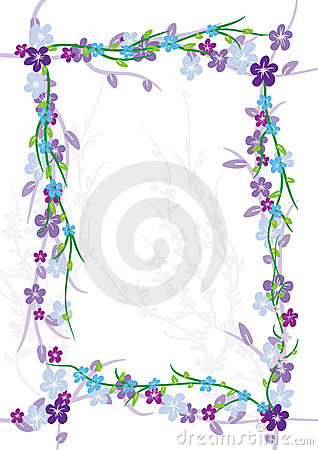 Flowers Flourish Frame_eps