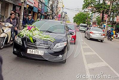 Flowers On Hood Of Car Free Public Domain Cc0 Image