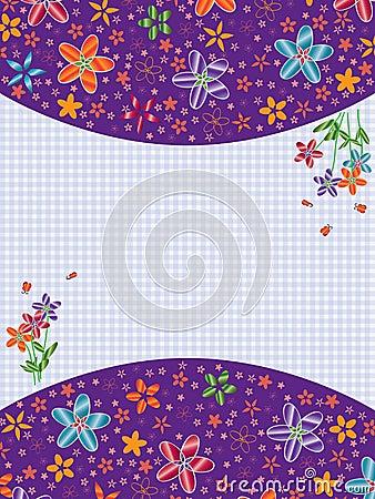 Butterflies Card Feminine_eps
