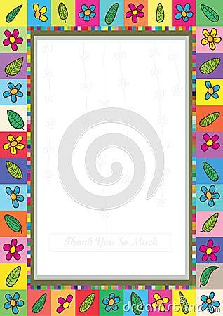 Flowers Leaves Frame_eps