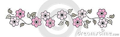 Flowers Line / divider