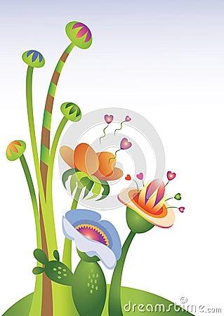 Flowers of Love illustration