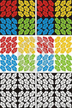 Flowers pattern texture