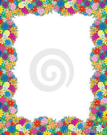 Flowers photo-frame