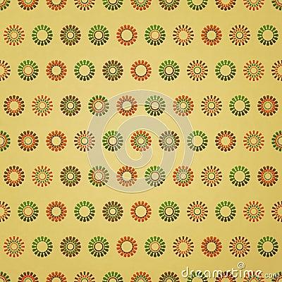 Flowers polka