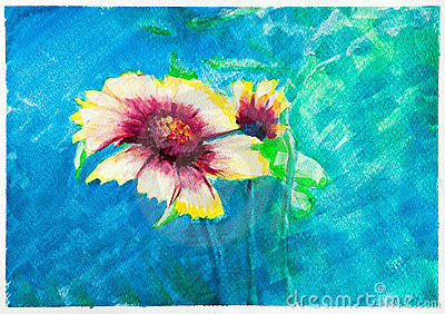 Flowers - watercolor