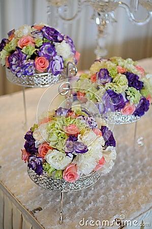 Flowers in wedding