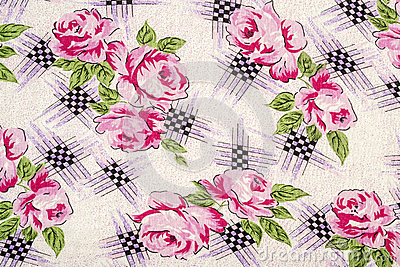 Flowery Table Cloth