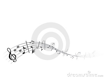 Flowing music
