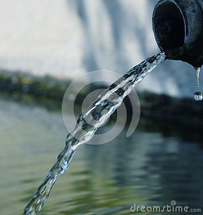 Free Flowing Water Royalty Free Stock Photography - 58331907