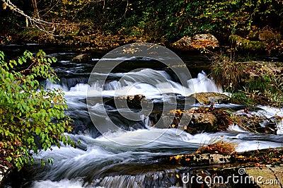 Flowing Waterfalls