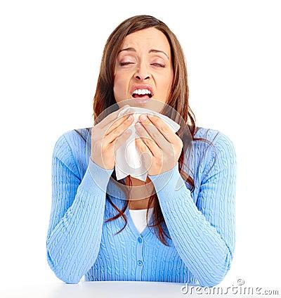 Free Flu, Allergy Stock Photography - 13942292