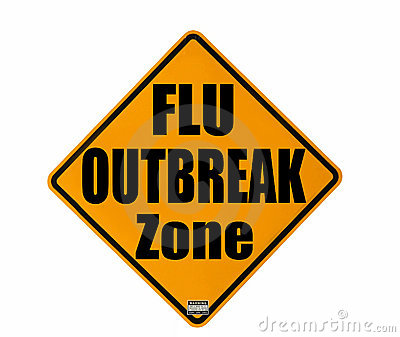 Flu outbreak warning