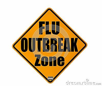 Flu outbreak warning