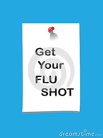 Flu shot memo 2