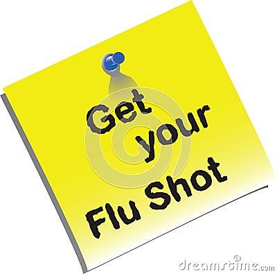 Flu shot memo