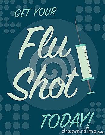 Construction Sign Clipart Flu Shot Poster Stock ...