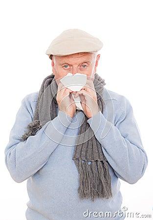 Flu sneeze