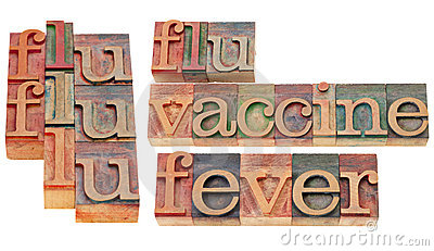 Flu, vaccine and fever