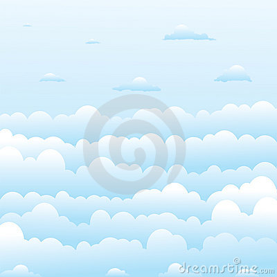 Free Fluffy Clouds Stock Photography - 2086942