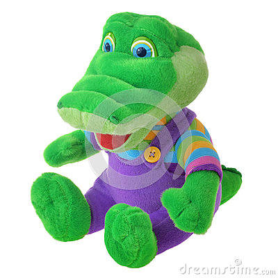 Free Fluffy Crocodile Toy Stock Images - 46350304